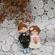 Магниты жених и невеста